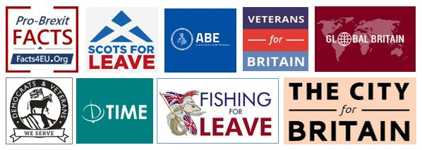 Brexit Group logos